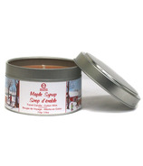 Seracon Maple Travel Tin Candle with Cotton Wick
