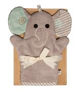 Zoocchini Bath Mitts Elle the Elephant
