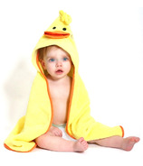 Zoocchini Baby Hooded Towel Puddles The Duck