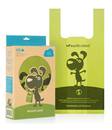 Earth Rated Unscented Dog Waste Bags with Easy-tie Handles