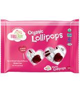 TruJoy Sweets Organic Heart Lollipops