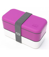 Monbento MB Original The Bento Box in Fuchsia & White
