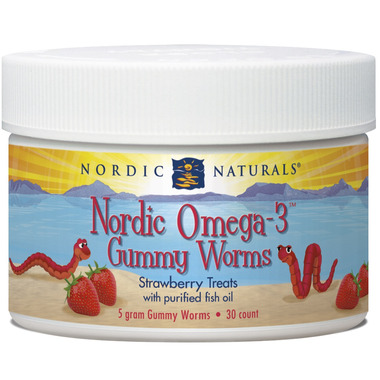 Nordic Naturals Nordic Omega 3 Gummy Worms