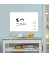 WallPops White Dry Erase Message Board Decal