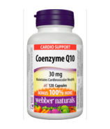 Webber Naturals Coenzyme Q10, 30 mg