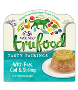 Wellness TruFood Wet Cat Food Tasty Pairings with Peas, Cod & Shrimp