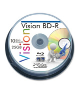 Vision Blu-Ray Recordable Discs