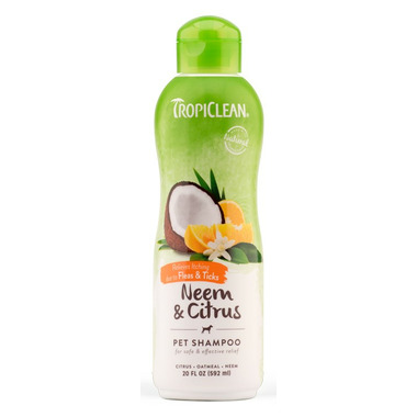 TropiClean Neem & Citrus Shampoo For Dogs