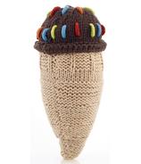Pebble Chocolate Ice Cream Rattle