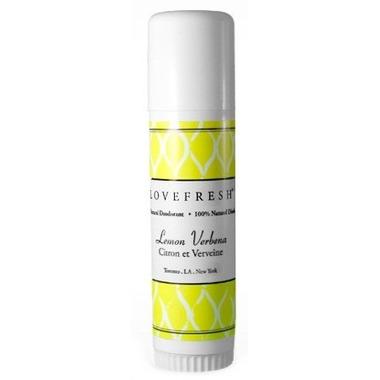 Lovefresh Lemon Natural Cream Deodorant Travel Stick