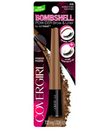 CoverGirl Bombshell POW-der Brow & Liner Medium Brown