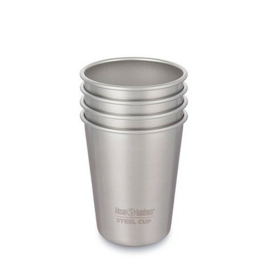 Klean Kanteen 4 Pack Steel Cup Brushed Stainless