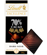 Lindt Excellence 70% Cacao Dark Chocolate Bar