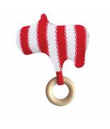 Manhattan Toy Knit Rattle Hippo