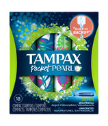 Tampax Pocket Pearl Tampons Super