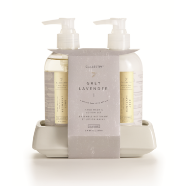 Illume Grey Lavender Hand Soap & Lotion Set