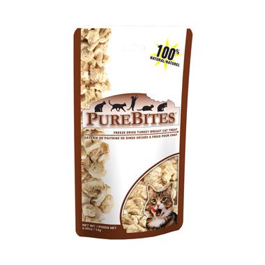 PureBites Freeze Dried Turkey Breast Cat Treats