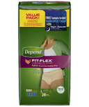 Depend for Women Underwear with FIT-FLEX Protection Size L