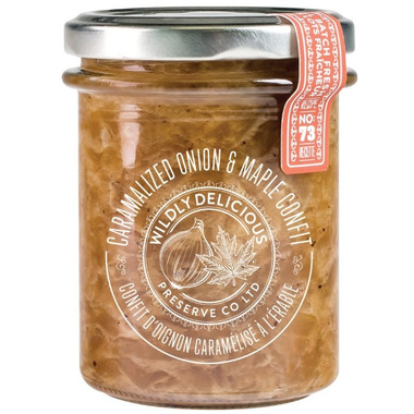 Wildly Delicious Caramalized Onion & Maple Confit