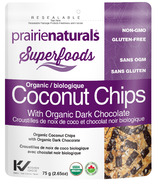 Prairie Naturals Coconut Chips with Organic Dark Chocolate