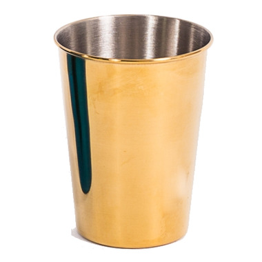 Onyx 9 oz Tumbler Cup in Gold