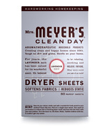 Mrs. Meyer's Clean Day Dryer Sheets Lavender