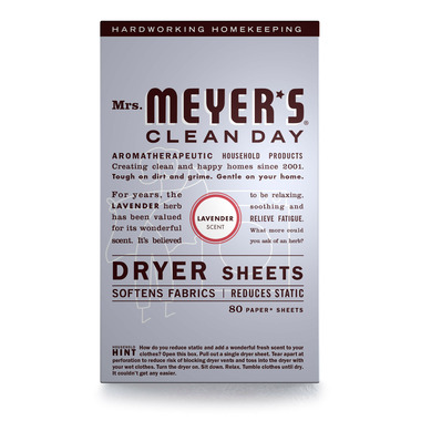 Mrs. Meyer\'s Clean Day Dryer Sheets Lavender