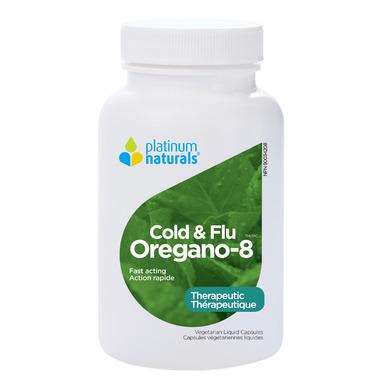 Platinum Naturals Oregano-8 Cold and Flu