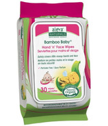 Aleva Naturals Bamboo Baby Hand 'n' Face Wipes