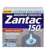 Zantac 150 Maximum Strength Cooling Sensation Tablets