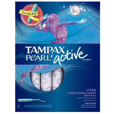 Tampax Pearl Active