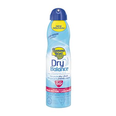 Banana Boat Dry Balance Sunscreen Spray SPF 50