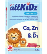 allKiDz Calcium, Zinc & Vitamin D3 Drink Mix