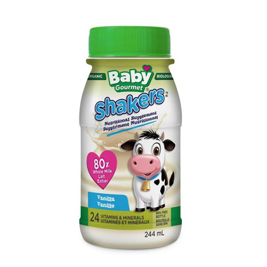 Baby Gourmet Shakers Nutritional Supplement Vanilla
