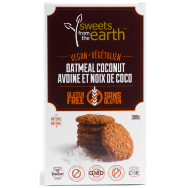 Sweets from the Earth Gluten Free Oatmeal Coconut Cookies