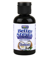 NOW Better Stevia Liquid Sweetener Coconut
