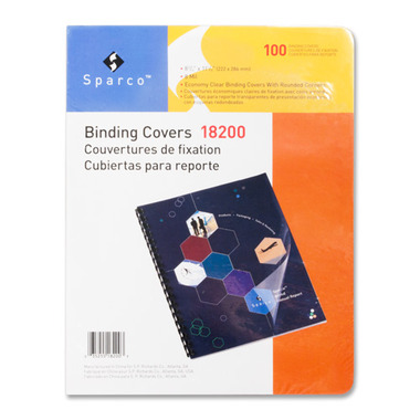 Sparco Clear Presentation Cover