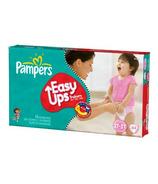 Pampers Easy Ups Girls Mega Pack