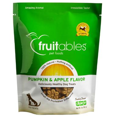 Fruitables Crunch Dog Treats Pumpkin & Apple