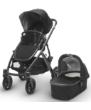 UPPAbaby Vista Stroller Jake Black and Graphite Frame