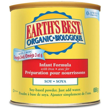 Earth\'s Best Organic Infant Formula with Iron