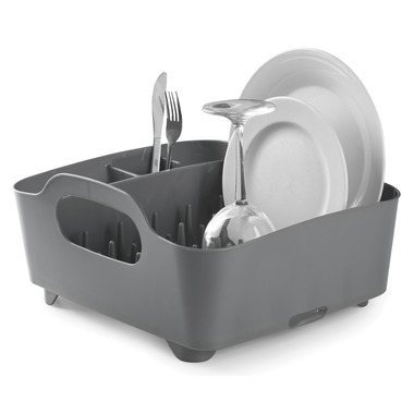 Umbra Tub Dish Rack Charcoal