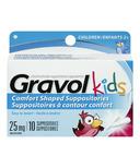 Gravol Kids Comfort Shaped Suppositories
