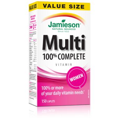 Jamieson Women\'s Adult Multivitamin Value Pack