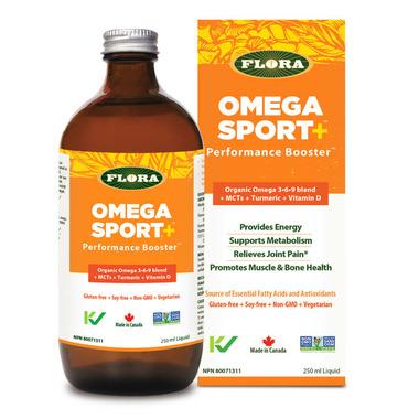 Flora Omega Sport + Performance Booster