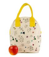 Fluf Tic Tac Toe Zipper Lunch Bag