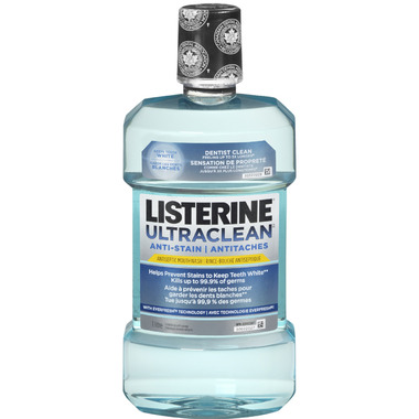Listerine Ultraclean Anti-Stain Mouthwash Arctic Mint