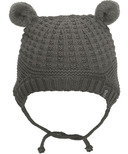 Calikids 100% Cotton Knit Hat with Ears