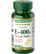 Nature's Bounty Vitamin E-400 IU