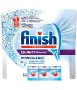 Finish Quantum Max Power & Free Dishwasher Tablets